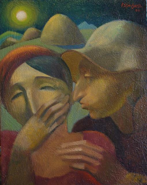 The Kiss by Vadim Bora