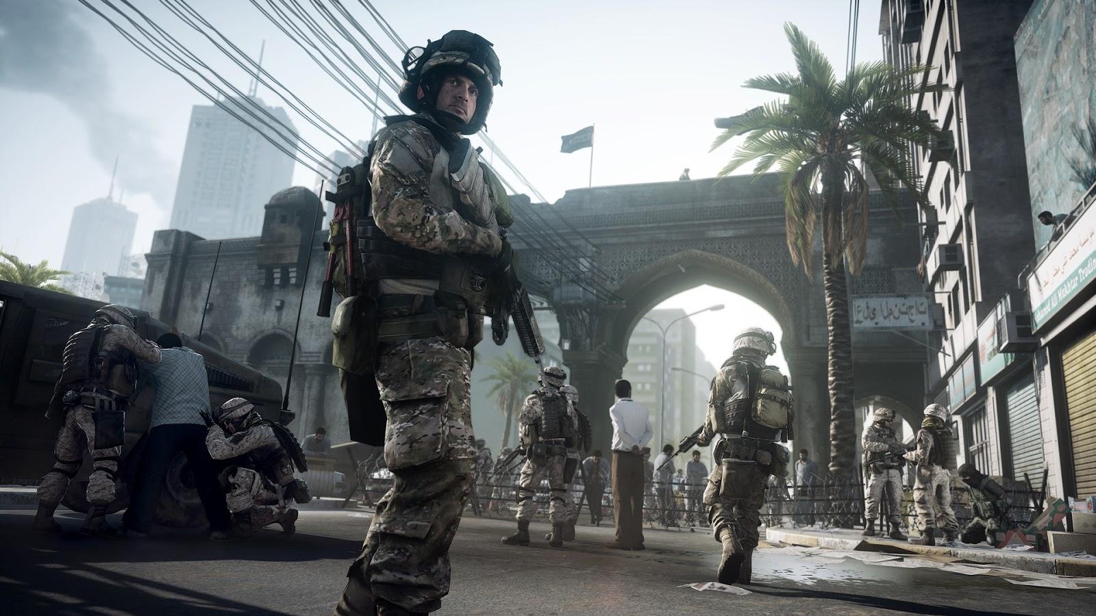 Battlefield 3 PC Game Screen Shot, Wallpapers