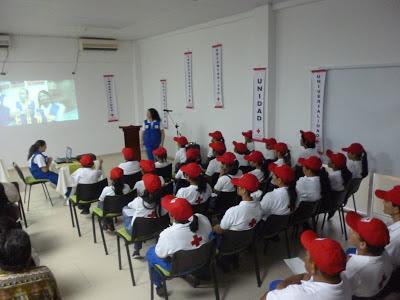 evento de celebración de los 30 años cruz roja amazonas