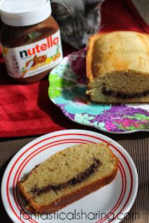 Nutella Swirl Pound Cake Sally