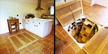 Unfortunately, these cellars can be quite costly, up to $30,000! If you want one, maybe it's time to start saving! - This Guy Put A Secret Window On His Kitchen Floor, For A Brilliant Reason!