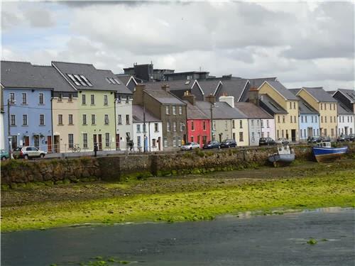 Viviendas de Claddagh en la actualidad