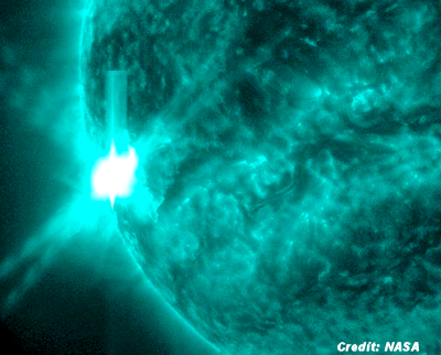 Solar Flare Causes Radio Blackout in Pacific