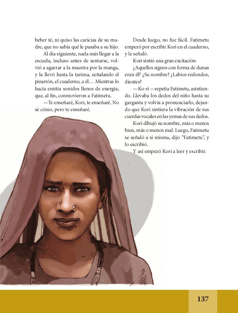 Palabras de caramelo - Español Lecturas 6to Bloque 5 2014-2015