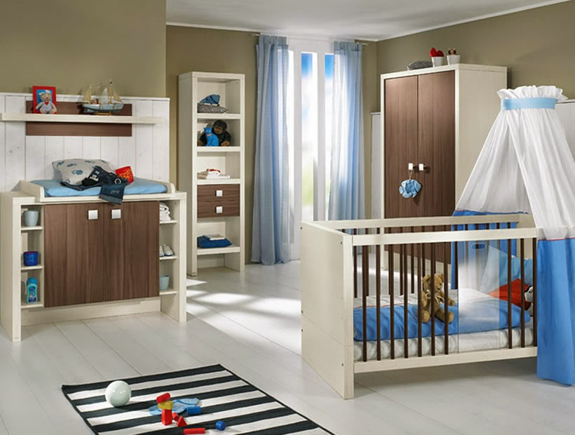 modern baby room color ideas