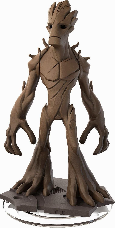 TOYS : JUGUETES - DISNEY Infinity 2.0  Groot : Muñeco | Figura : MARVEL Guardianes de la Galaxia  Producto Oficial | Videojuegos | A partir de 7 años  PlayStation 4, Nintendo Wii U, PlayStation 3, Xbox 360, Xbox One