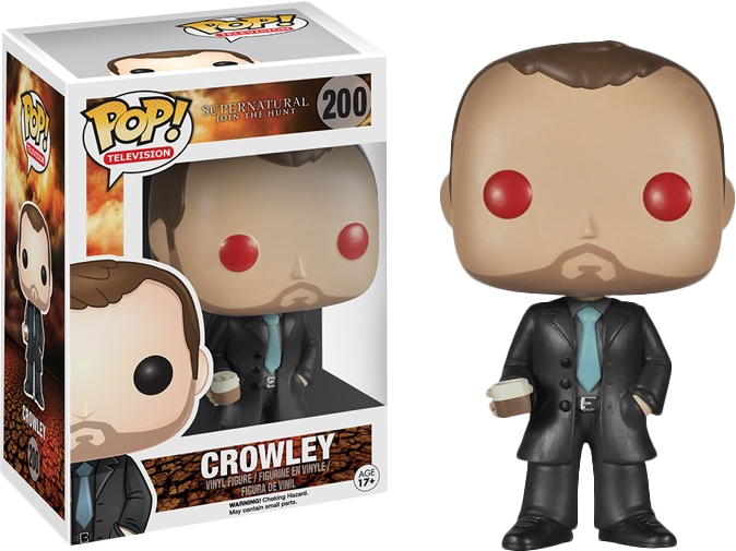 Funko Pop! Crowley Red Eyes Supernatural