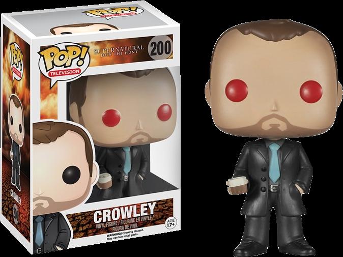 Funko Pop! Crowley Red Eyes Supernatural