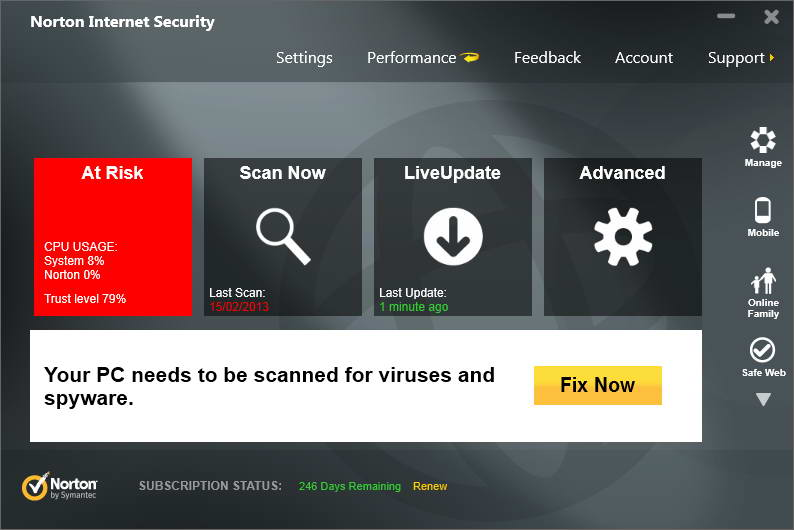 Norton Internet Security 2013 20