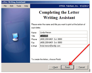 Adding your signature to letters in Dynamics GP