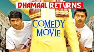 Dhamaal Returns 2017 Hindi Dubbed 480p HDRip [360MB]