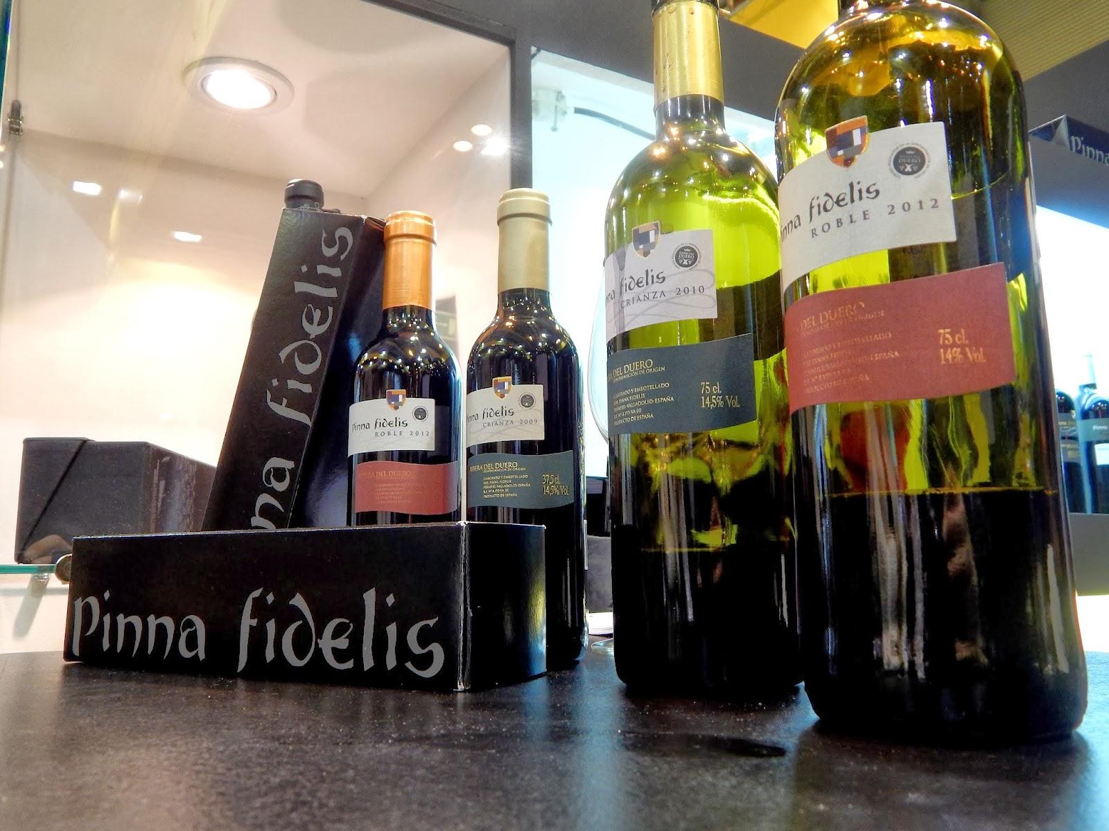 Salon del Gourmet IFEMA Vinos Pinna Fidelis