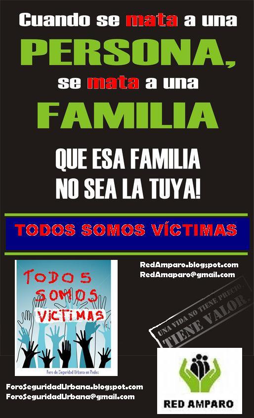 TOMEMOS CONCIENCIA!!! NADIE ESTA AJENO A SER UNA VÍCTIMA!!!