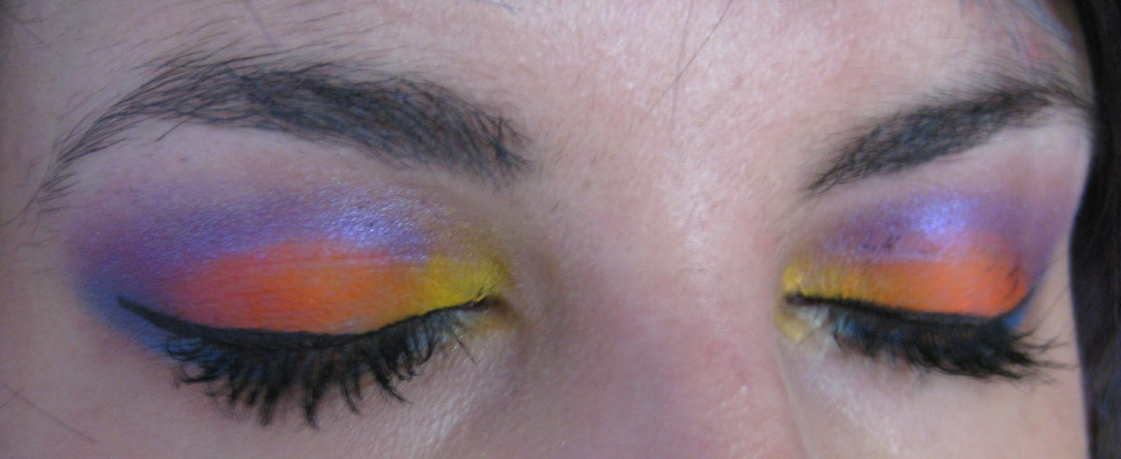 Cat Eye Orange With Yellow Outter