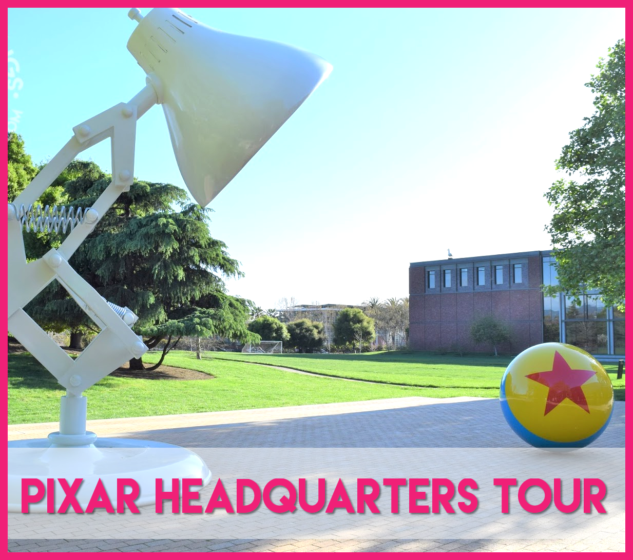 Pixar Headquarers Tour