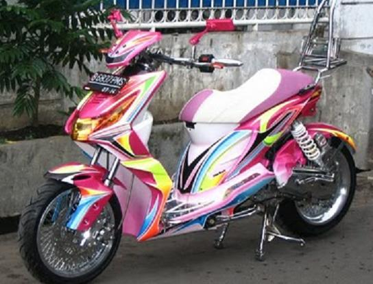 Modifikasi Motor Honda Beat 2013