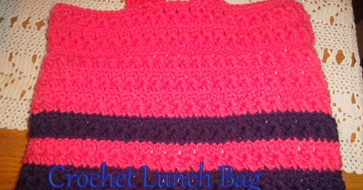 Live it well: Crochet Lunch Bag