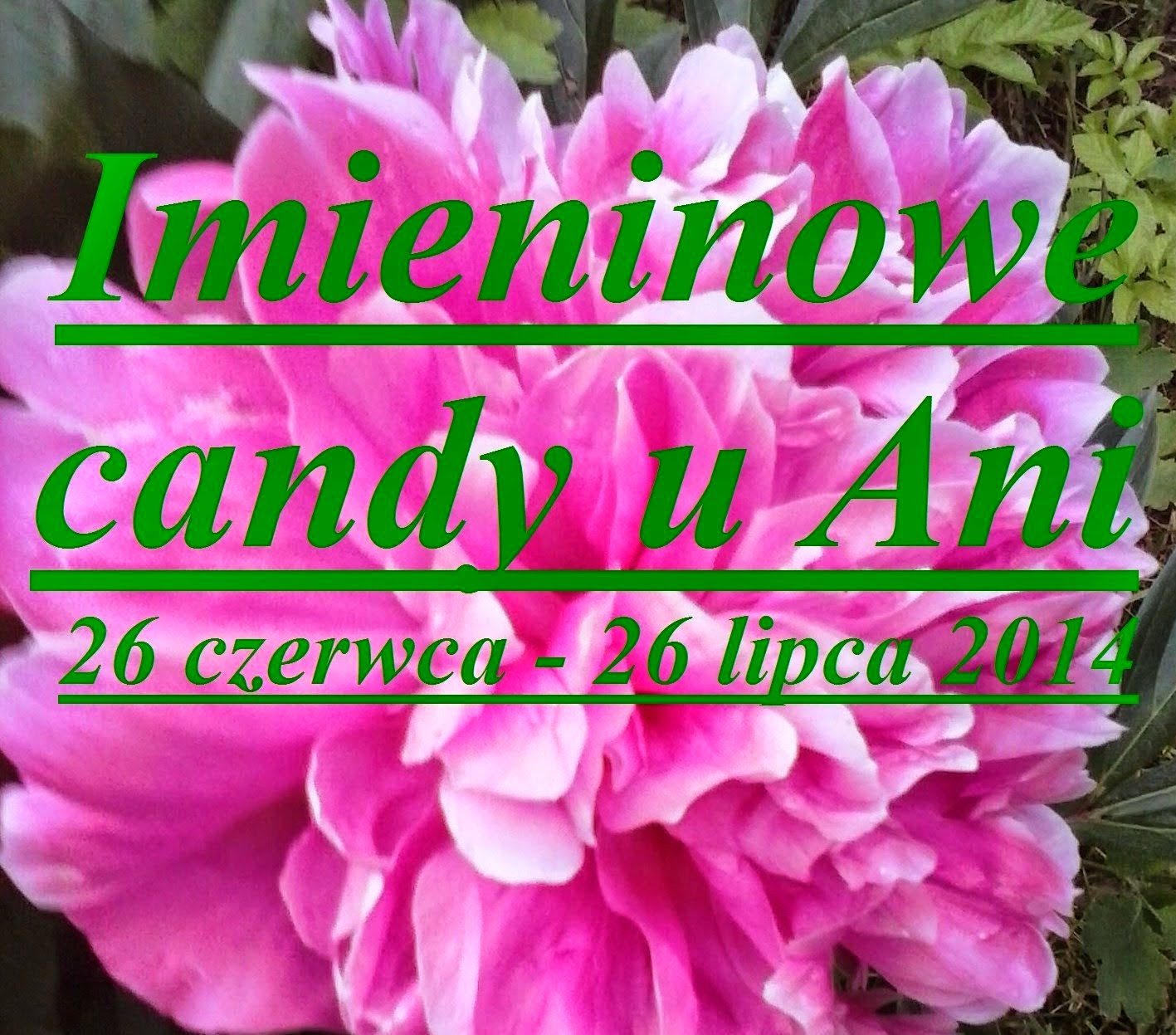 Imieninowe candy u Ani