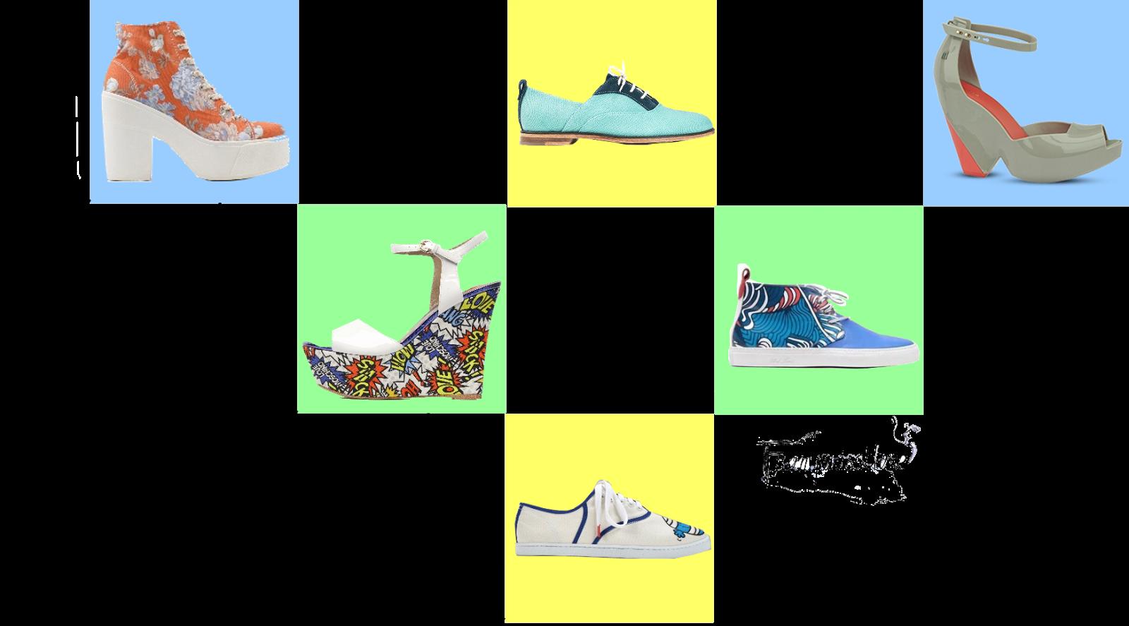 sarenza, pepsico, twins for peace, moschino, melissa chaussures, garçonne et chérubin