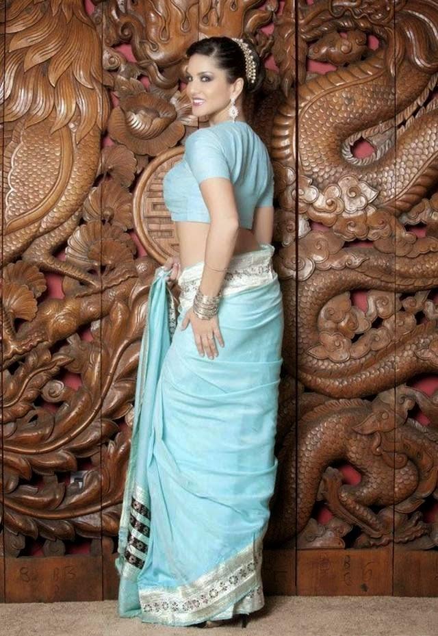 Sunny Leone in Traditional Saree Photoshoot