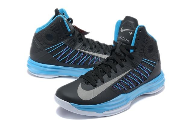Nike Lunar Hyperdunk X 2012 LeBron James BlackSilver Basketball