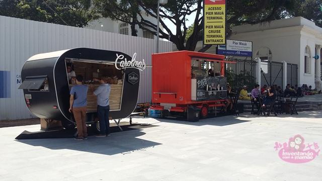 Food Trucks na Praça Mauá