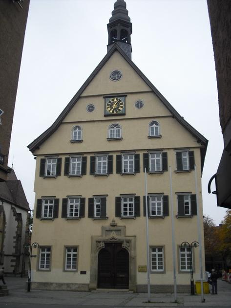 Fenster Bad Cannstatt : Bad Cannstatt (Stadt Stuttgart), Umbau des Rathauses  BW  Regbez