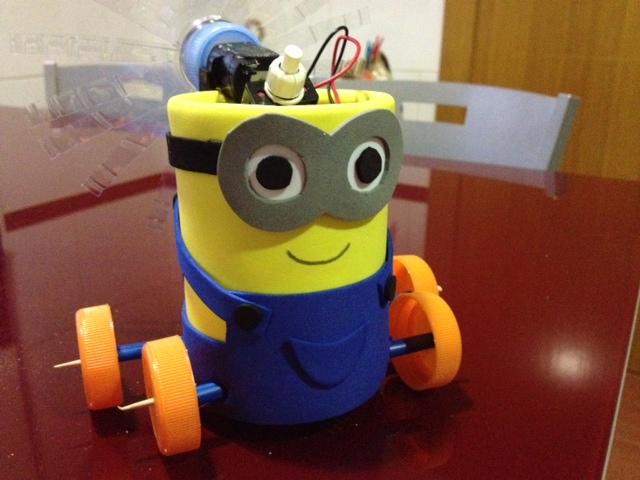 Sueños de Robot: Mi primer robot