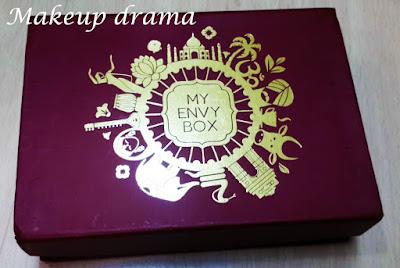 subscription box, My envy Box, August envy Box, Envy box August 2015