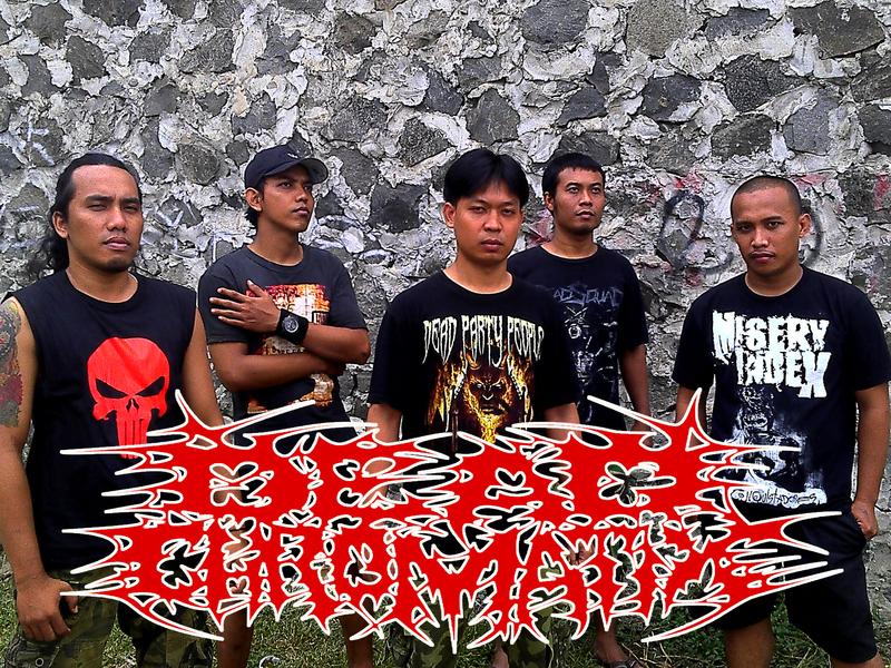 Dead Chromatix Band Death Metal Jakarta Foto Personil Logo Wallpaper