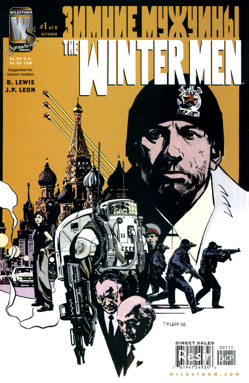 Read online The Winter Men comic -  Issue #1 - 1