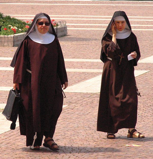 The town is basically run by these nuns and boy do they mean business