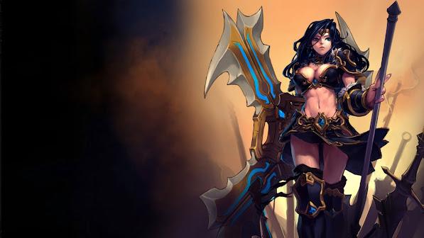sivir sexy girl league of legends game