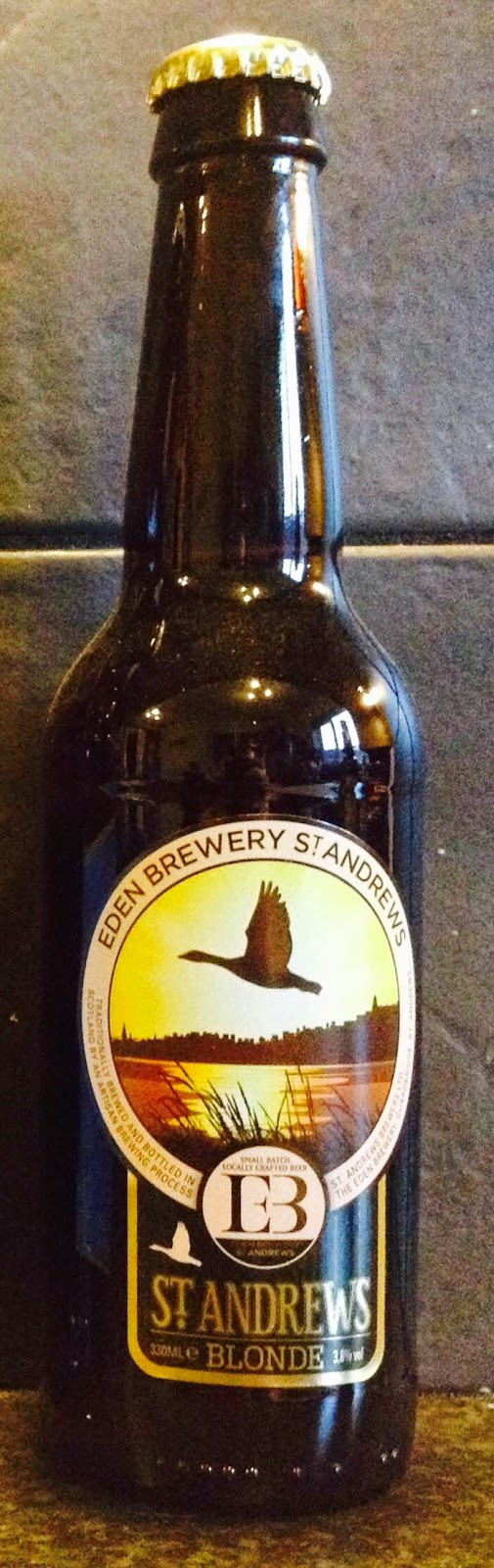 St Andrews Blonde (Eden Brewery)