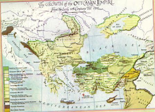 Eski yüksek medeniyet merkezleri ve yayılması haritası