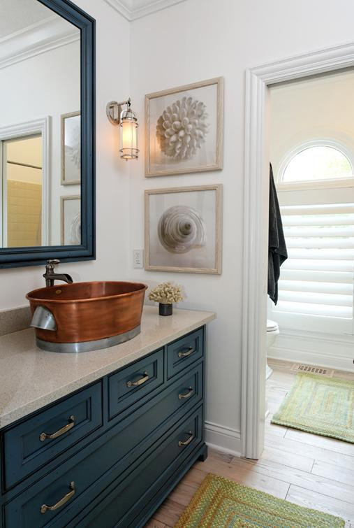 Delorme designs nautical bathrooms Bathroom design ideas houzz