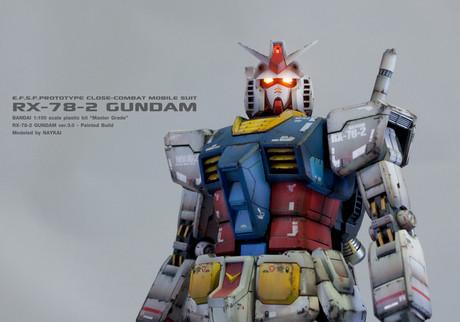 MG RX-78-2 Gundam ver.3.0 model kit