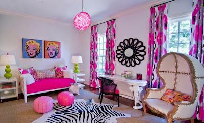 habitación colorida juvenil