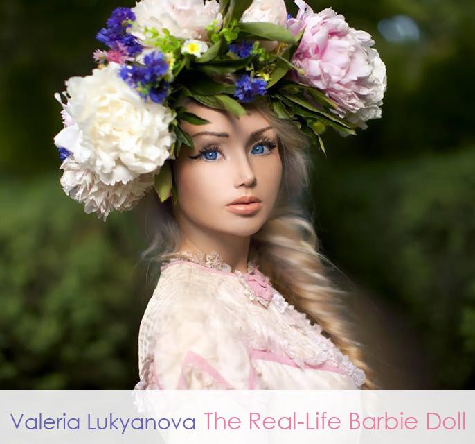 Valeria Lukyanova the Real LIfe Barbie Doll