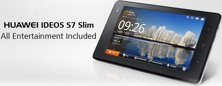 Huawei Ideos S7 Slim Tablet