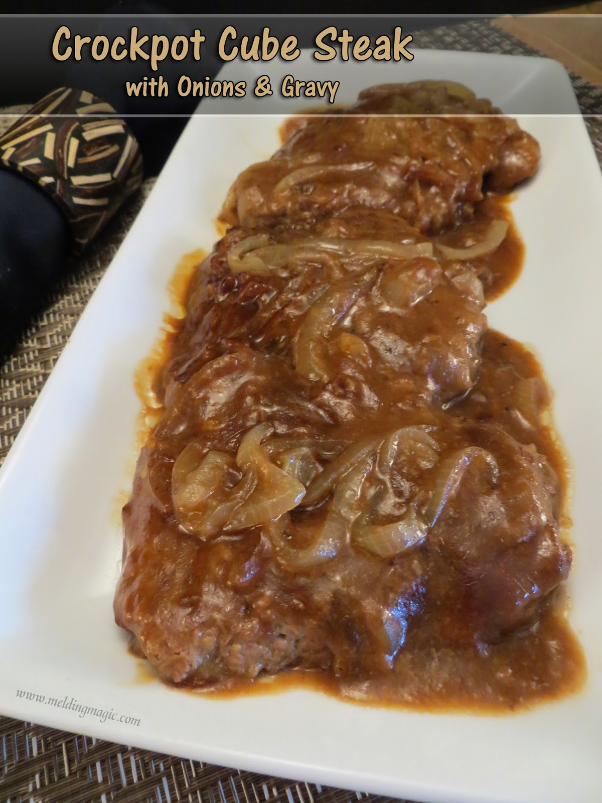 Cube Steak with Gravy