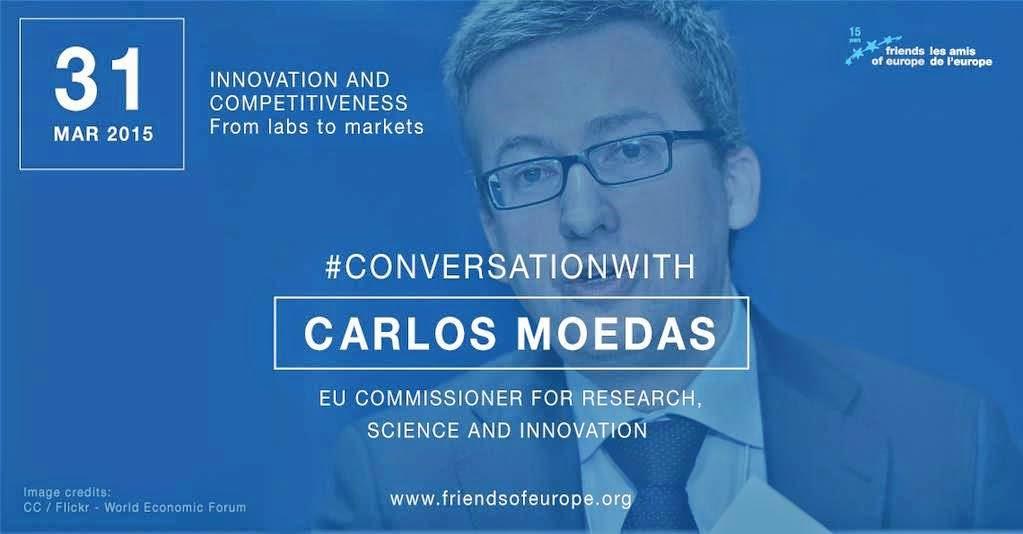 Carlos Moedas – Comissário Europeu