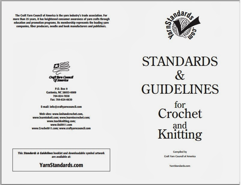 Claireity Crochet Standardizing Crochet