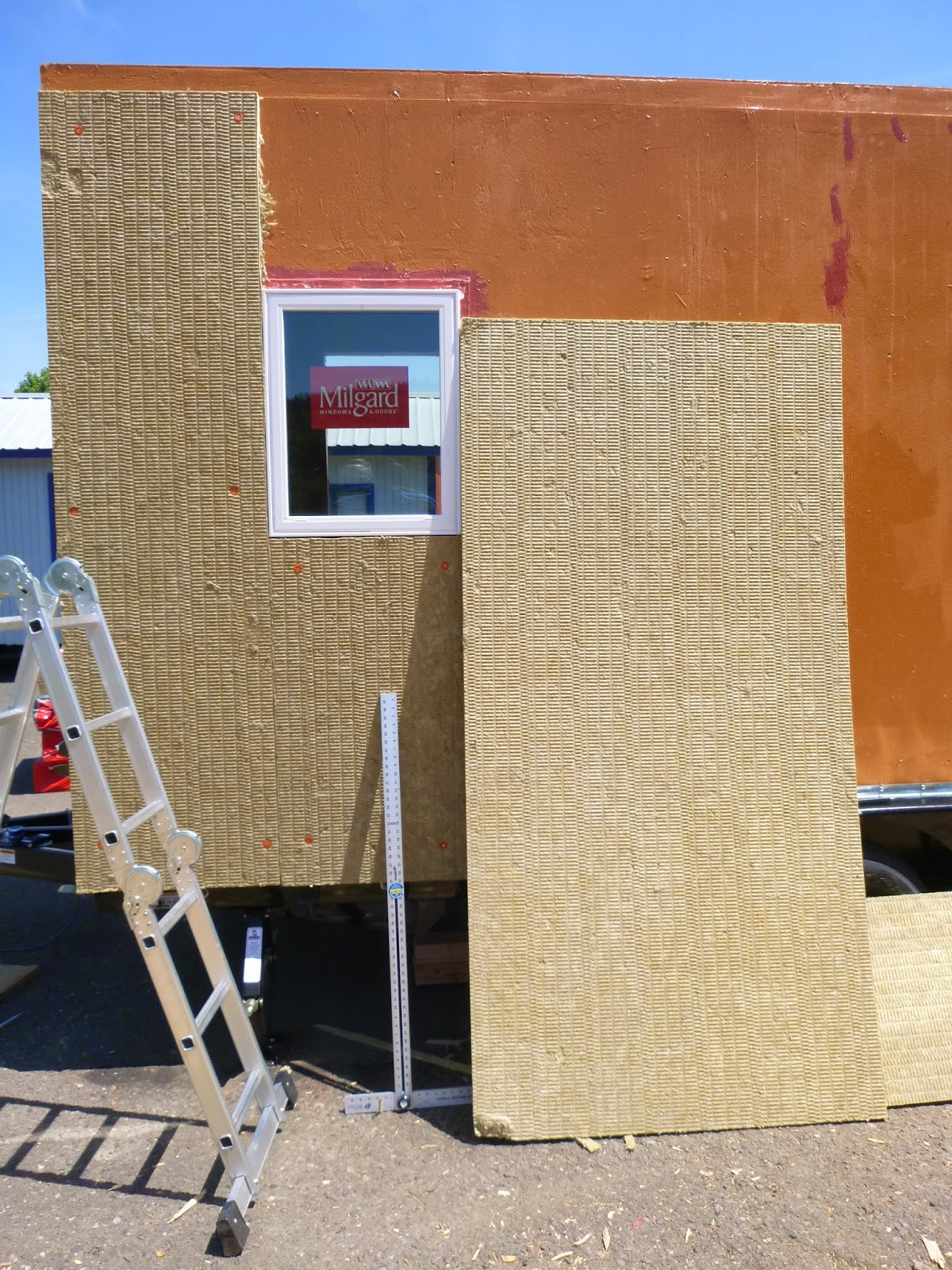 Roxul comfortboard is exterior insulation wrap for Roxul mineral wool r value