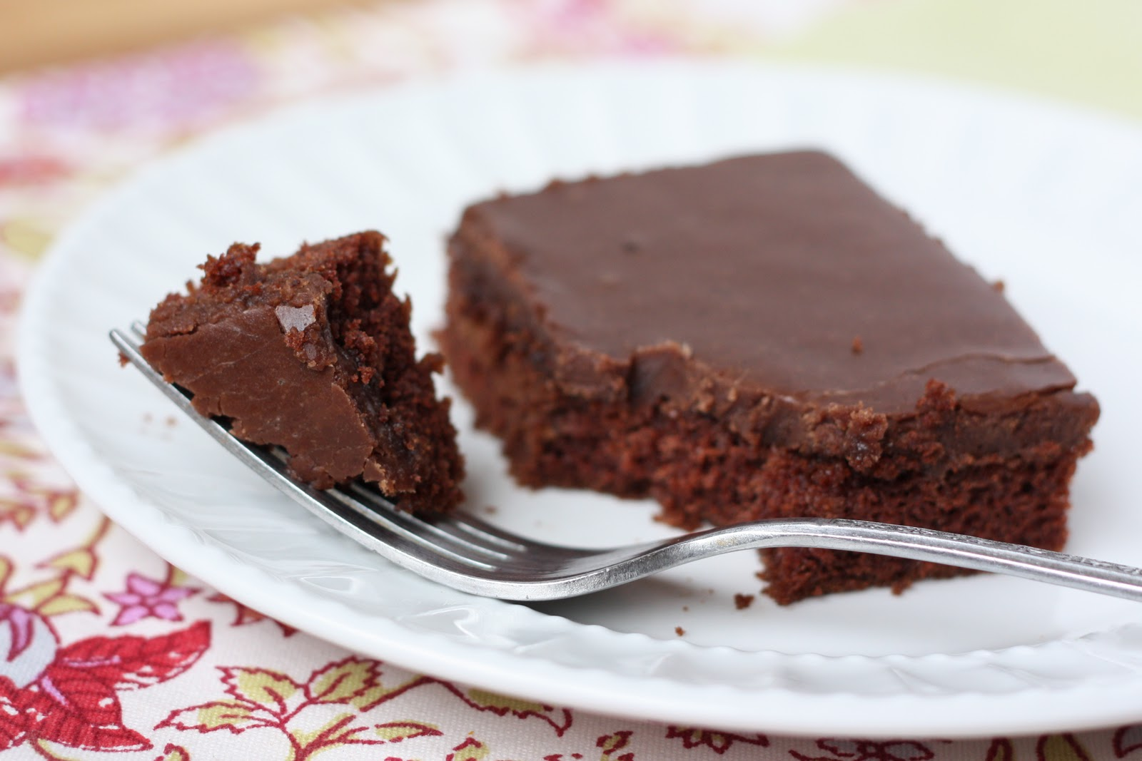Texas Sheet Cake a.k.a. Best Chocolate Cake Ever (printable Gluten ...