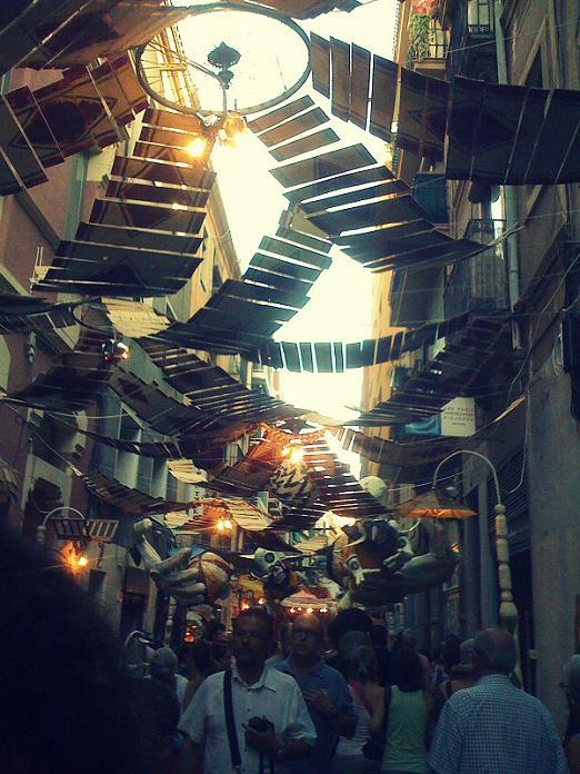 festas de gracia carrer de mozart 2012