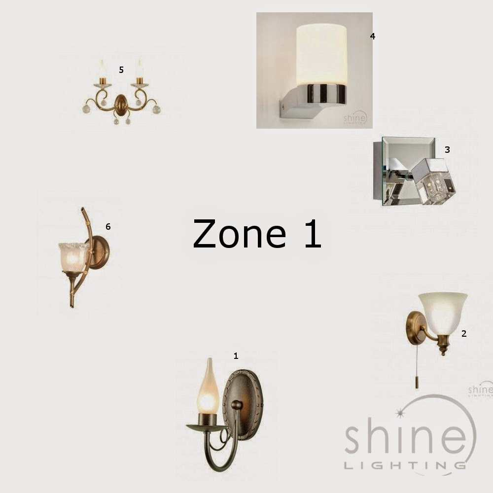 23 wonderful bathroom lighting zones explained for Bathroom zone 3