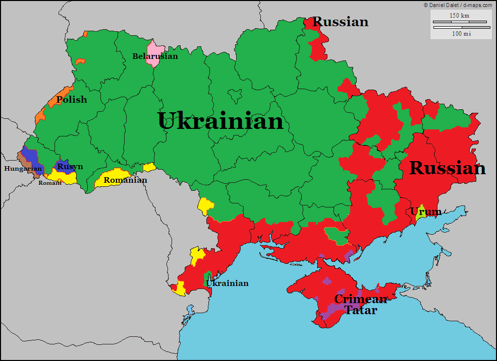 Russian language in Ukraine - Wikipedia