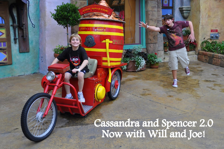 Cassandra & Spencer 2.0 Now with Will and Joe!