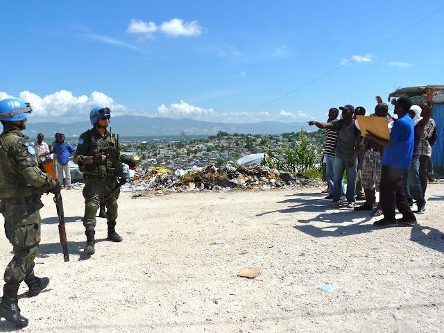 """Haiti: """"ABA MINUSTAH"""""""